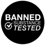 BANNED SUBSTANCE TESTED LOGO